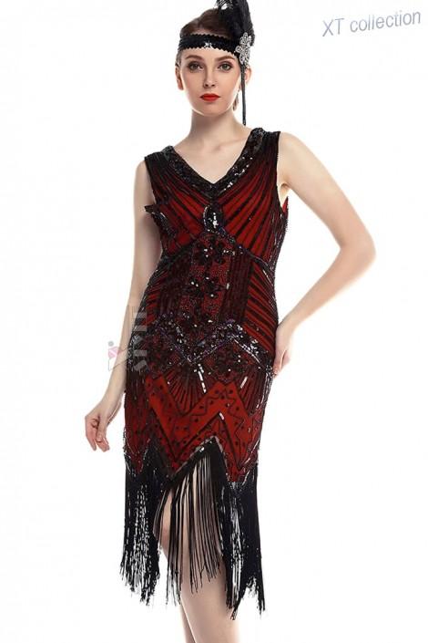 Ретро-платье в стиле 20-х XTC (105299)