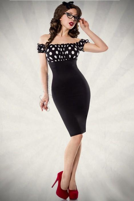 Облегающее платье в ретро-стиле (105174)