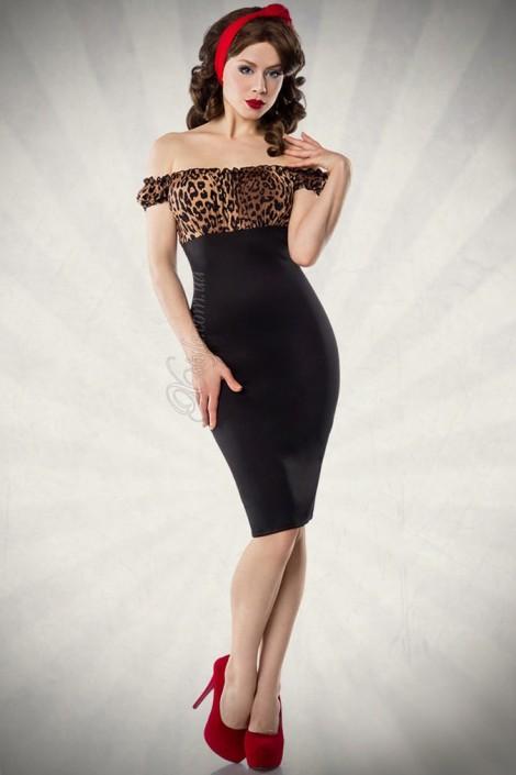 Облегающее ретро-платье (105175)