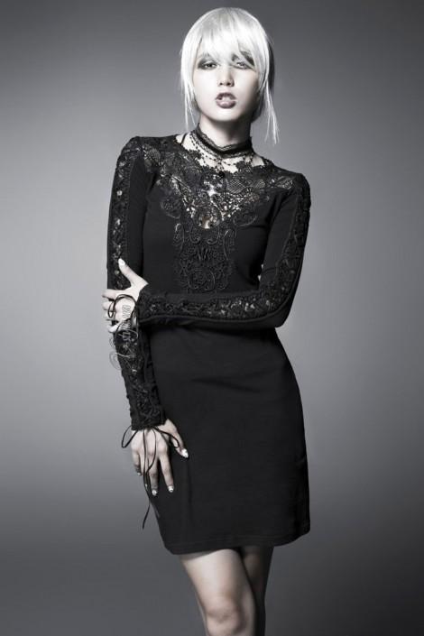 Платье с кружевом (105211)