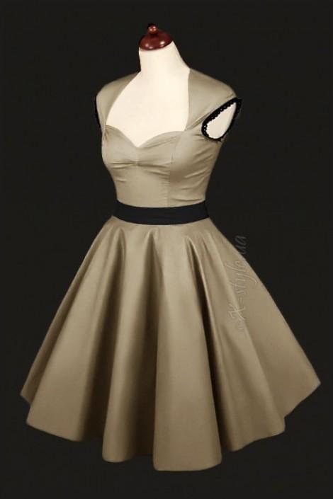 Плаття в стилі 50-х з під юбником купити недорого в Києві a807c8c722237