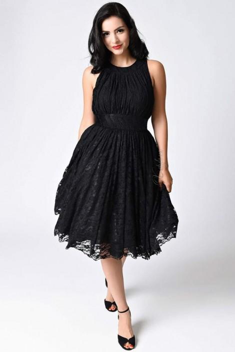 Ретро-платье в стиле 40-х XTC220 (105220)