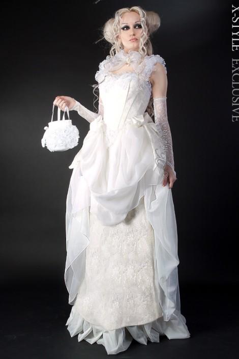 Свадебное платье 2 пол. 19 ст. (125025)