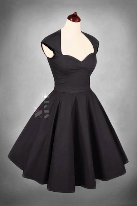 Винтажное платье в стиле 50-х (105049)