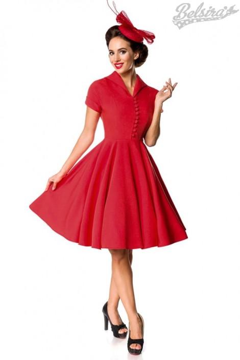 7510b9e9d32 Красное платье Retro B5401 купить недорого в Киеве