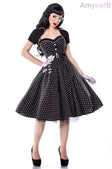 Платье Rockabilly с болеро и поясом (105337)