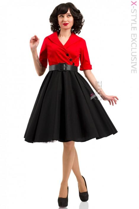 5b9833373581af Плаття в стилі Ретро з декольте X-Style купити недорого в Києві ...