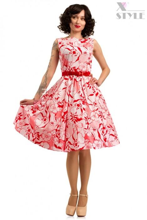 Летнее платье с цветочным узором X5349 (105349)