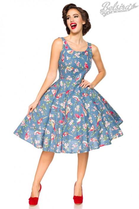 Плаття з вінтажним рисунком Belsira купити недорого в Києві e5e1549504506