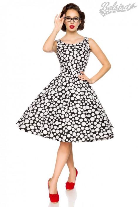 8dfd7d1c159 Платье в горошек в стиле Ретро Belsira купить недорого в Киеве ...