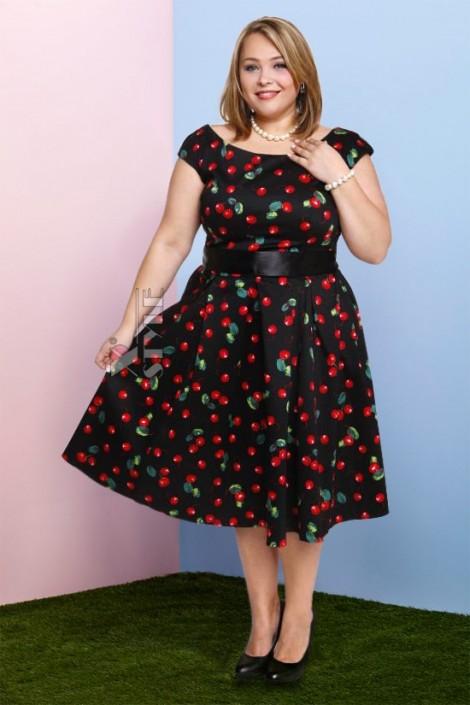 Платье Рокабилли 2XL-4XL (105900)