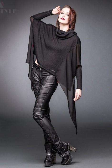 Блуза-пончо (SH12-384)