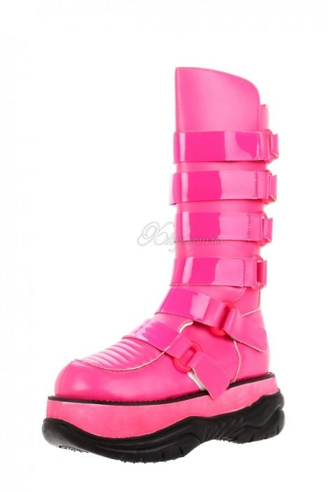 Розовые сапоги Кибер (310016)