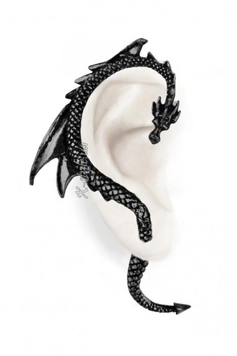Серьга The Dragons Lure Black (AGE274B)