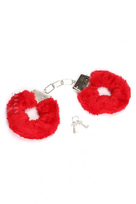 Красные наручники Dessous-1102 (911102)