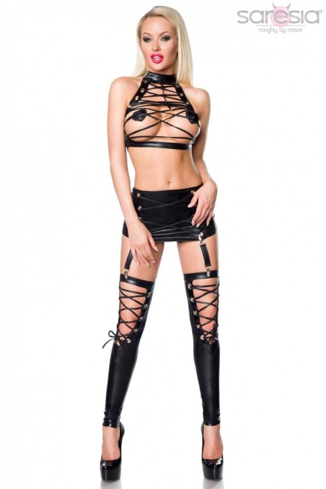 Сексуальный комплект со шнуровками S199 (126199)