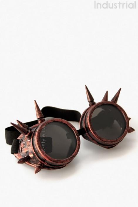 Очки-гогглы с шипами Industrial (905085)