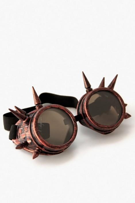 Очки-гогглы с шипами (905085)