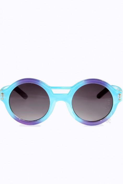 Солнцезащитные очки в двухцветной оправе (905054)