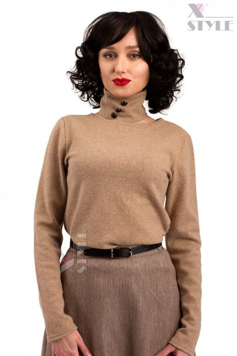 Джемпер женский из овечьей шерсти X1215 (111215)