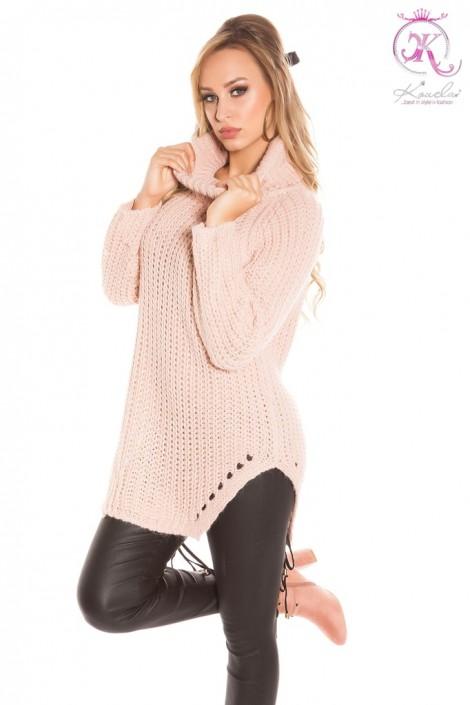 Женский свитер (античный розовый) (111222)