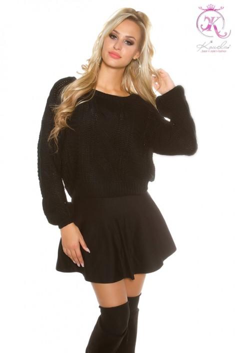 Черный свитерок KouCla (111241)