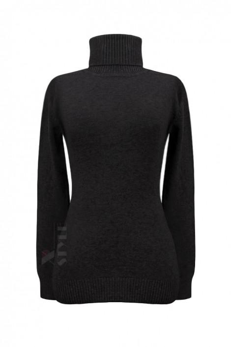 Черный женский свитер под горло XC1032 (141032)