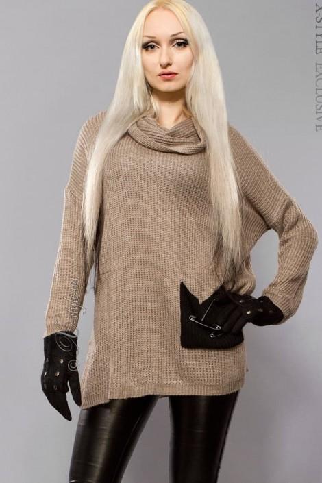 Объемный женский свитер X-Style (111144)