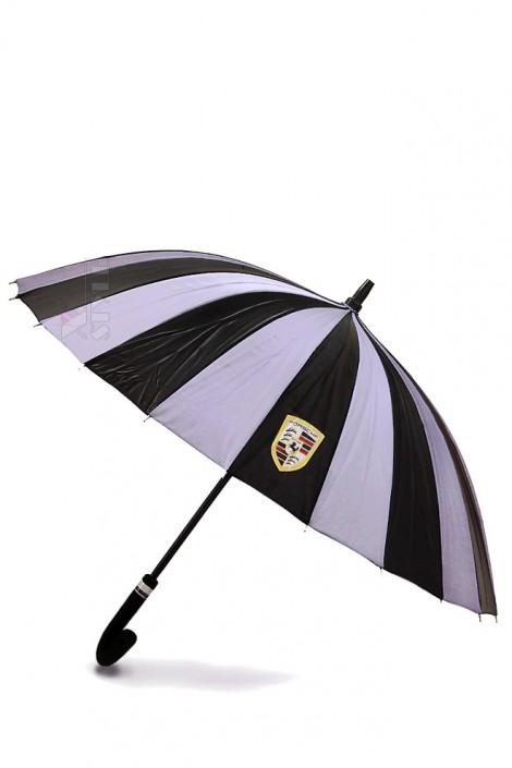 Зонт-трость 24 спицы (сиреневый/черный) (402073)