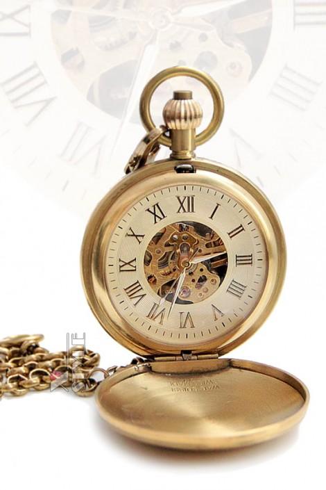 Старинные механические часы Workmans (330038)