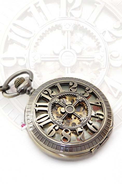 Карманные механические часы Figures (330033)