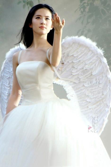 Белые крылья ангела (100 см) L033 (420033)