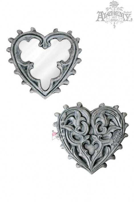 Компактное зеркальце Gothic Heart (SGV38)