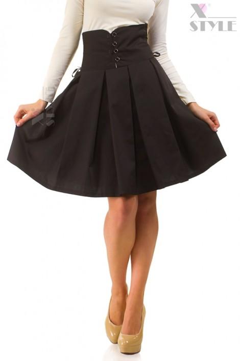 Плиссированная юбка с высокой талией X-Style (107075)