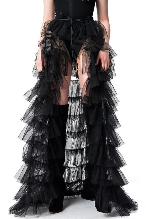 Накладная юбка из фатина (107165)