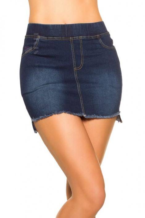 Джинсовая юбка с карманами MF7170 (107170)