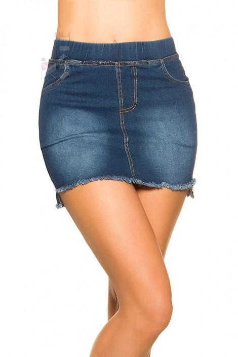 Короткая джинсовая юбка MF7172 (107172)