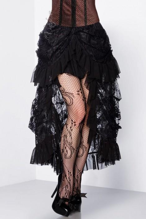 Кружевная юбка со шлейфом X122 (107122)