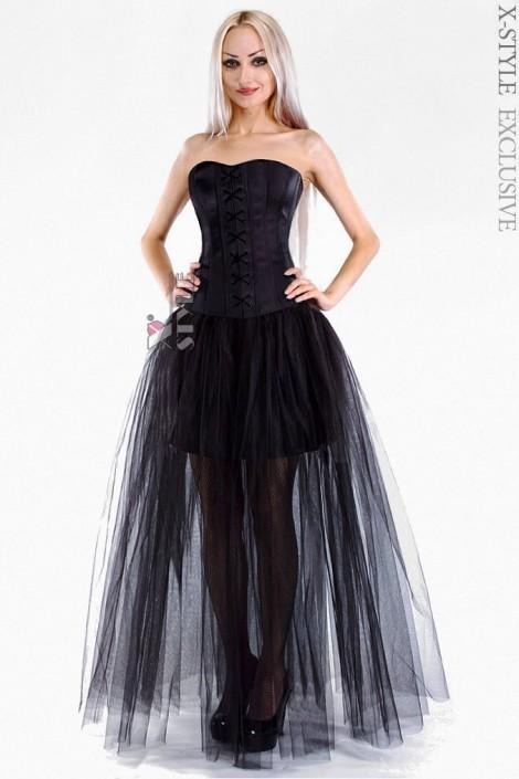 Длинная юбка-пачка (107048)