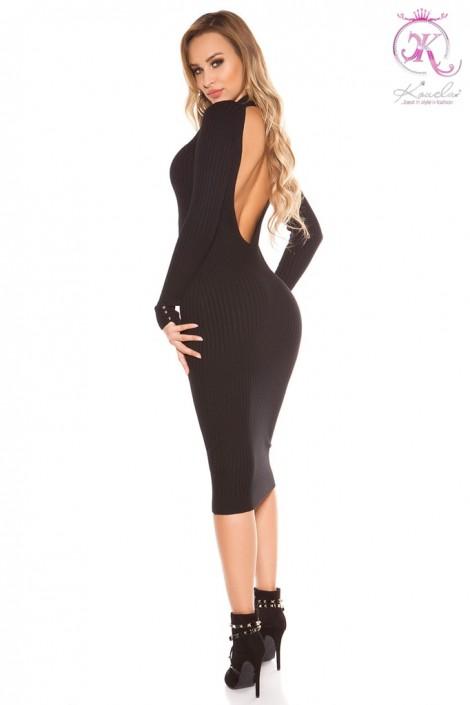 В язане плаття з відкритою спиною KouCla купити недорого в Києві ... e9a2f092e4f88