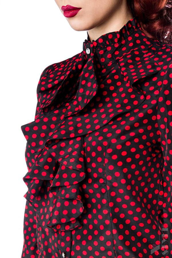 Блузка в стиле ретро Belsira, 9