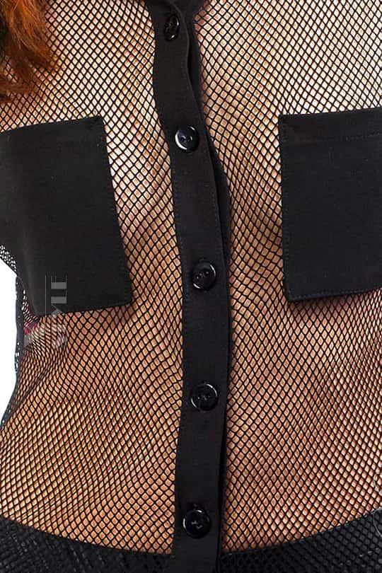 Рубашка женская в сетку X-Style, 3