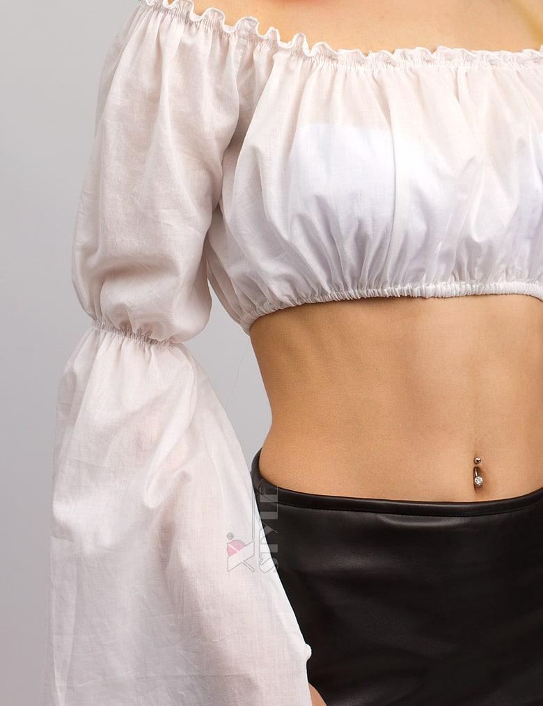 Летняя блуза с открытыми плечами X-Style, 7