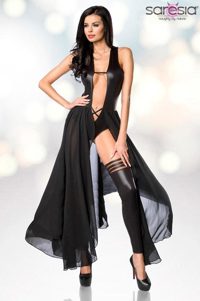 Откровенное платье-боди и гетры Saresia, 5