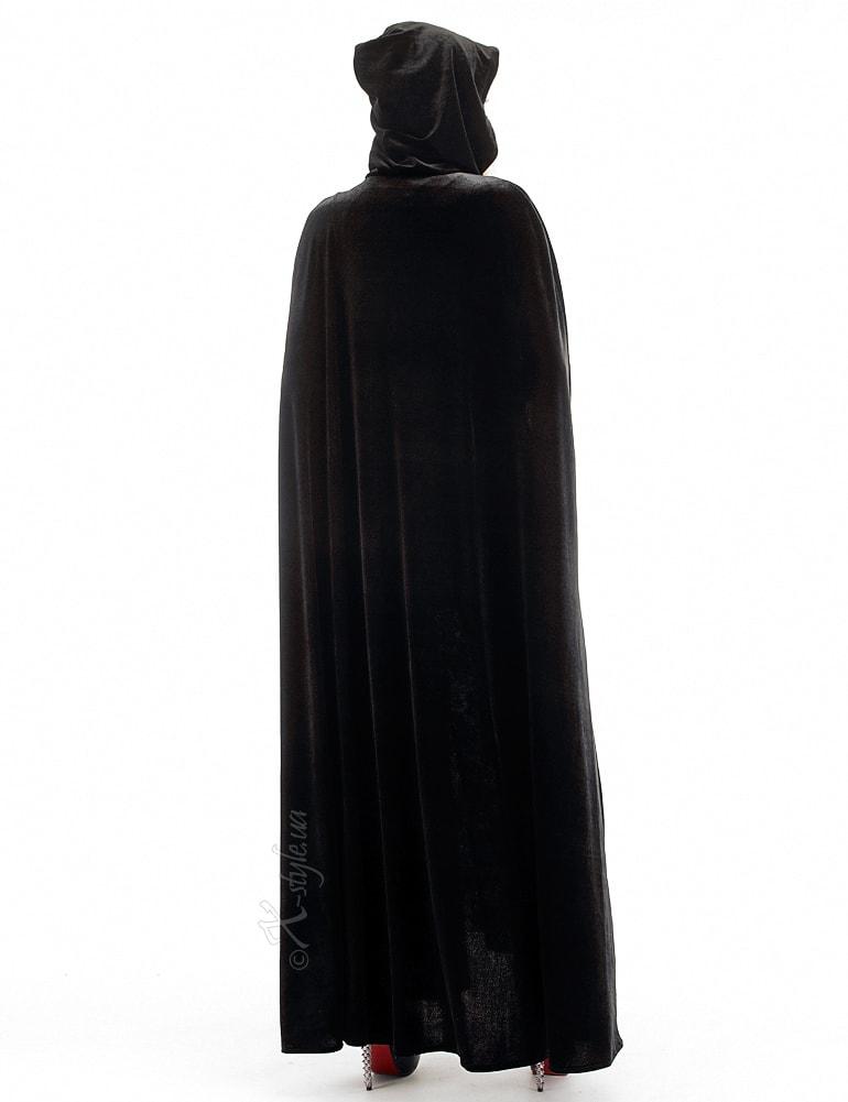 Длинная черная накидка, 3
