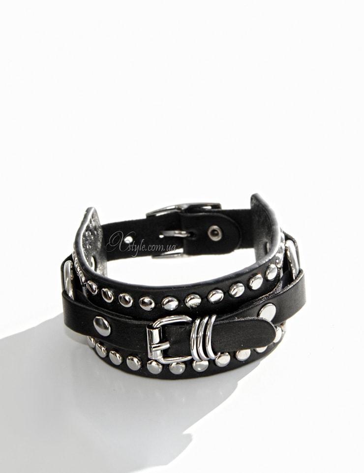 Кожаный браслет-ремешок 710139, 3