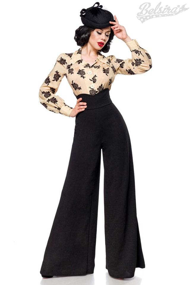 Женские брюки в стиле Марлен