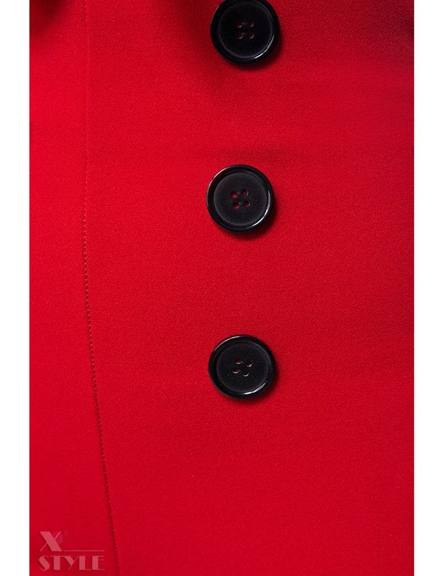 Красные брюки в стиле Ретро, 11