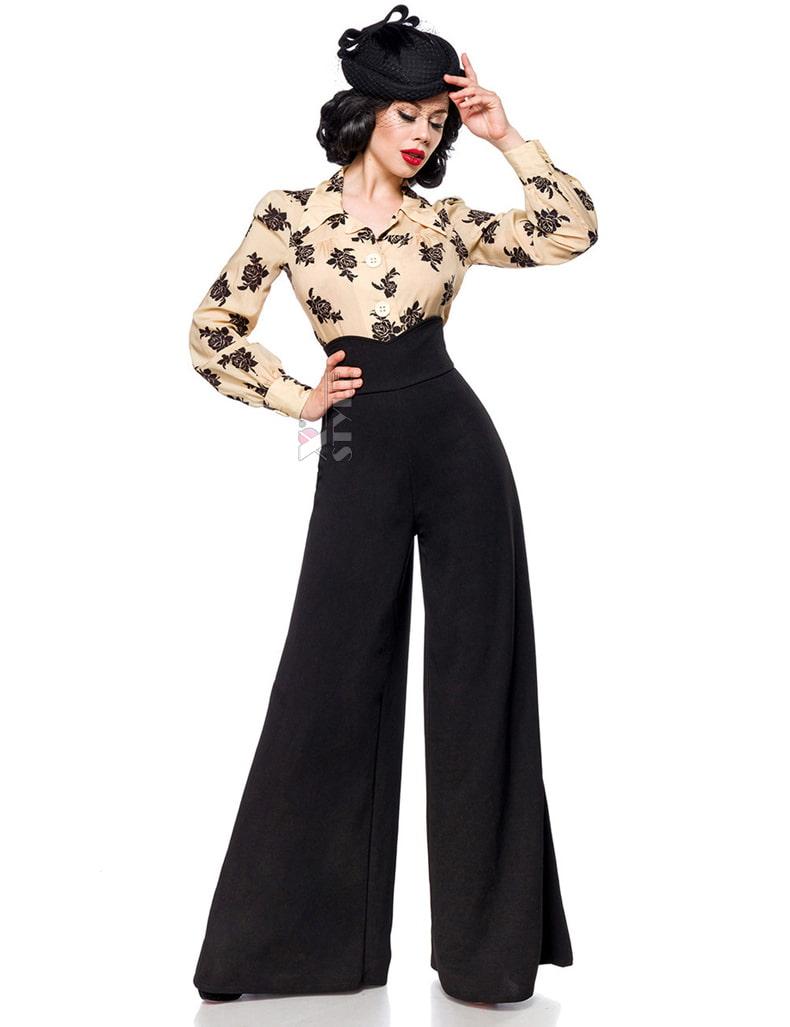 Женские брюки в стиле Марлен, 9