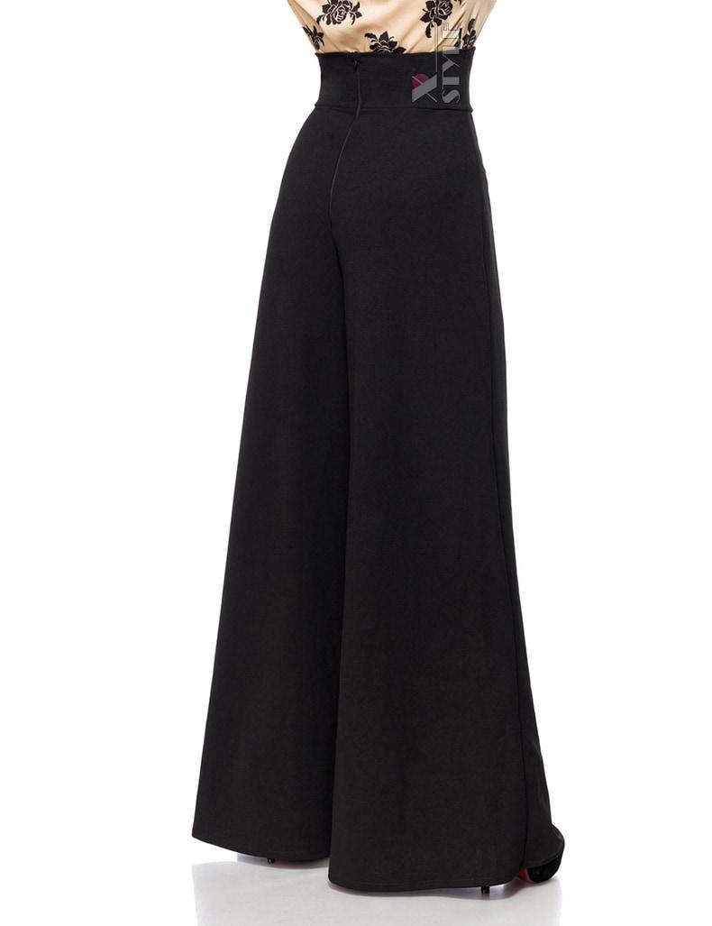 Женские брюки в стиле Марлен, 7